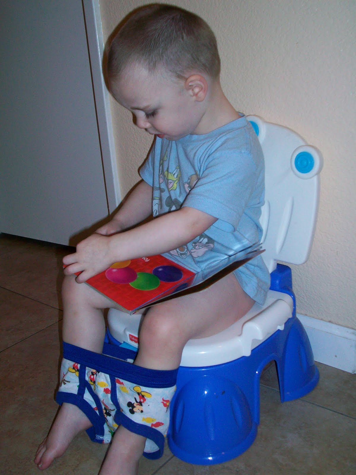 Potty Training Boys is not as scary as you think
